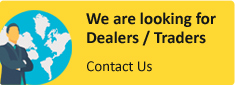 We are looking for Dealers / Traders